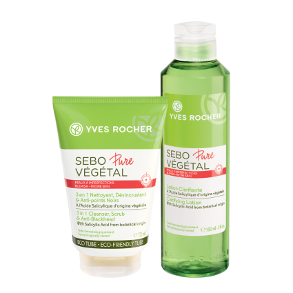 set sebo pure vegetale
